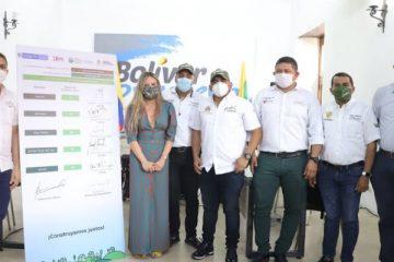 Minvivienda y Gobernación construirán 200 viviendas rurales en el sur de Bolívar