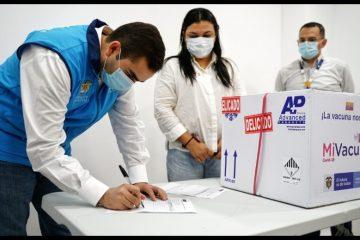 Ahora sí, ¡comenzó el proceso de vacunación en Cartagena y Bolívar!