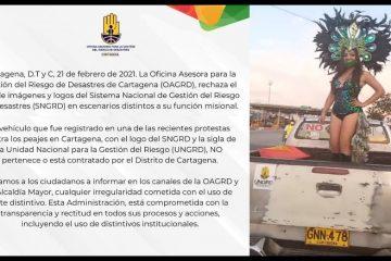 Funcionario distrital rechaza uso indebido de logos oficiales, pero no denunciará el caso
