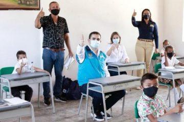 Gobernación y Mineducación garantizan alternancia en las aulas de clases en Bolívar