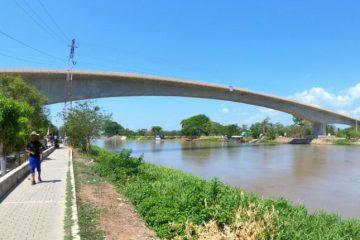 Ya está todo listo para inaugurar el puente que une a Soplaviento con San Estanislao