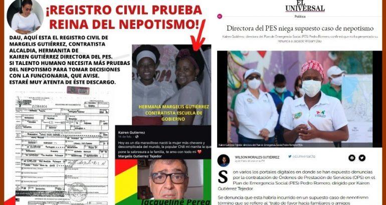 «Margelis Gutiérrez Tejedor sí es hermana de Kairen Gutiérrez Tejedor»: Jacqueline Perea