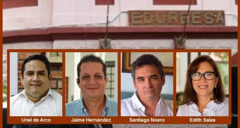 Renuncia de gerente y tres miembros de la Junta de Edurbe, ¿otro ejemplo de 'primiparada'?