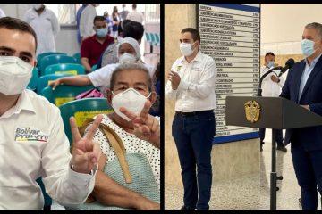 Una abuela de Turbaco, Bolívar, la vacunada número 2 millones en el país