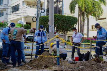 Acuacar detecta conexión ilegal en un hotel de Bocagrande