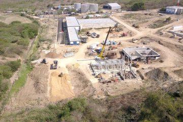 Acuacar construye moderna planta de lodos en Pasacaballos