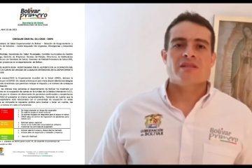 Por aumento en ocupación de camas UCI, Gobernación declara Alerta Roja Hospitalaria
