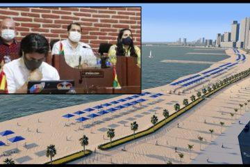 Concejo de Cartagena pone su lupa sobre obras de la Protección Costera