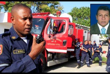 El comandante del Cuerpo de Bomberos de Cartagena, ¿con un pie en la calle?