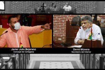 Trifulca de Bejarano y Múnera en el Concejo se traslada a las redes sociales
