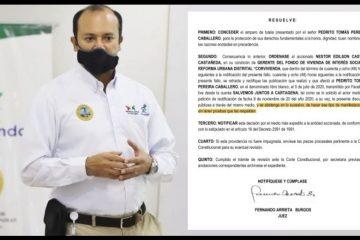 Por orden judicial, gerente de Corvivienda deberá retractarse de afirmaciones injuriosas contra el exalcalde Pereira