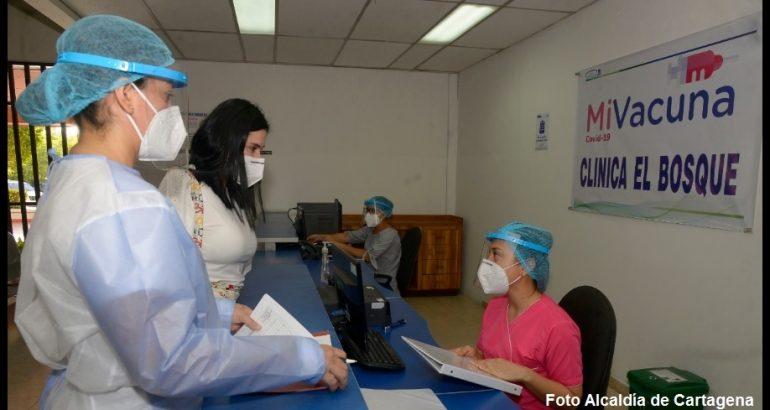 Proceso de vacunación contra el Covid en Cartagena, uno de los más lentos del país