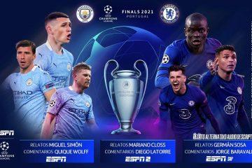 ¡Atención, futboleros! La final de Champions League se transmitirá por tv con tres opciones de audio