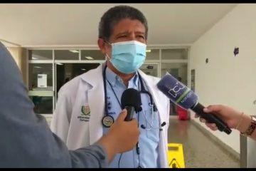 En Cartagena, «100% de camas UCI para Covid están ocupadas»: coordinador del CRUE