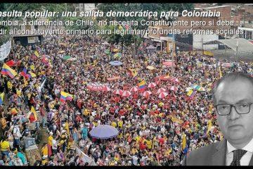 Exprocurador Carrillo propone «una consulta popular como herramienta para transformar a Colombia»