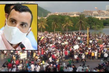 Concejo, otro escenario para que los líderes de las protestas expresen sus inquietudes