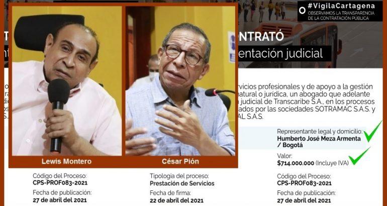 Transcaribe, a explicar por qué contrató a dedo una firma de abogados por $714 millones