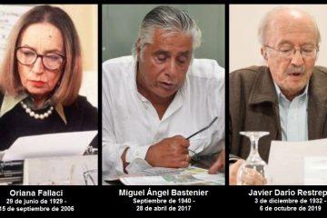 Las enseñanzas de tres grandes maestros del periodismo – I