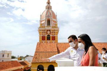Gobernación y Mincultura definen las obras de adecuación que se harán en Mompox y Cartagena
