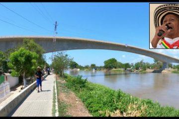 El puente Catalino Parra: una obra al ritmo de gaitas