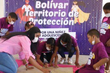 Gobernación lanza en el sur de Bolívar programa para prevenir la violencia infantil