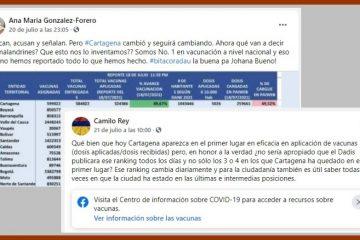 «Critican, acusan y señalan. Pero Cartagena cambió»: González-Forero