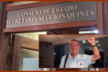 Sección Quinta del Consejo de Estado confirma elección de William Dau como alcalde de Cartagena