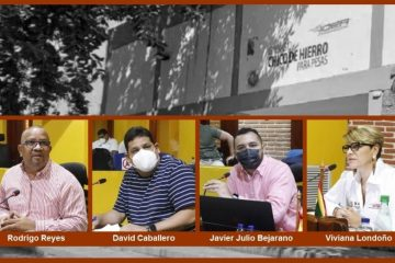 Concejales Rodrigo Reyes y David Caballero le ponen lupa a contratos en el IDER