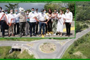 Entregan obras del corredor vial Puerta de Hierro – Palmar de Varela y Carreto – Cruz del Viso