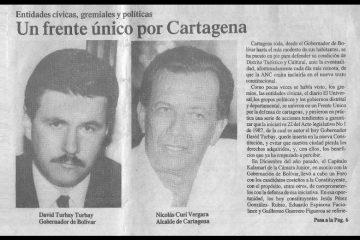 En Cartagena se rememoró el rol de varios actores en el proceso constituyente – II