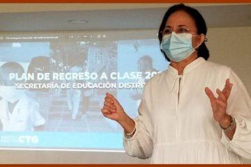 «Hemos trabajo duro para que podamos regresar de forma segura a las aulas»: Olga Acosta Amell