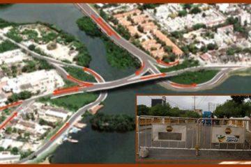 Situación del Puente Las Palmas, un tributo a la desidia que podría ocasionar  una tragedia