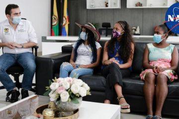 Tres niñas de Bolívar cumplirán su sueño de conocer la Nasa