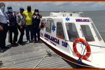 Residentes en la zona insular de Cartagena, con ambulancia acuática las 24 horas del día