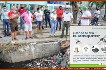 Ante incremento de muertos por dengue, el Dadis realiza acciones de prevención y control