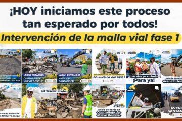 Por la avenida Santander y la Transversal 52 arranca intervención de la malla vial de Cartagena