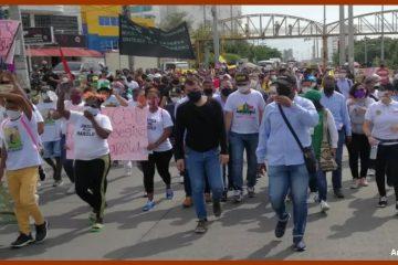 Marchas hoy en Cartagena, ¿solo contra el alcalde o también contra las ías?