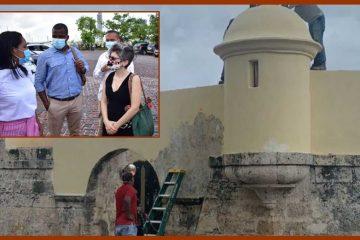«Sí existe una afectación al patrimonio cultural nacional de las murallas»: ministra de Cultura