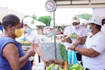 Hoy finaliza mercado campesino en Ciudad del Bicentenario