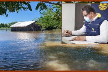 Por inundaciones, la Gobernación de Bolívar declara calamidad pública en el sur del Departamento