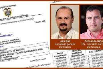 Embargan otra vez las cuentas del Distrito por no pagar sus deudas con las empresas de servicios públicos