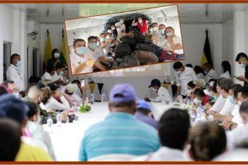 ¿En qué anduvieron el gobernador Vicente Blel Scaff y más de medio gabinete en el sur de Bolívar?